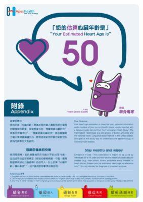 Heart Age 心臟年齡測試