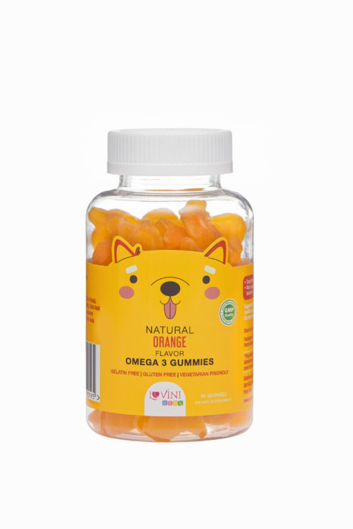 兒童奧米加-3 軟糖