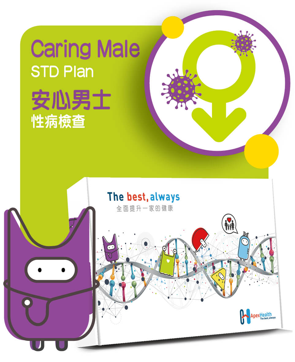 安心男士性病檢查 Caring Male STD Check up Plan