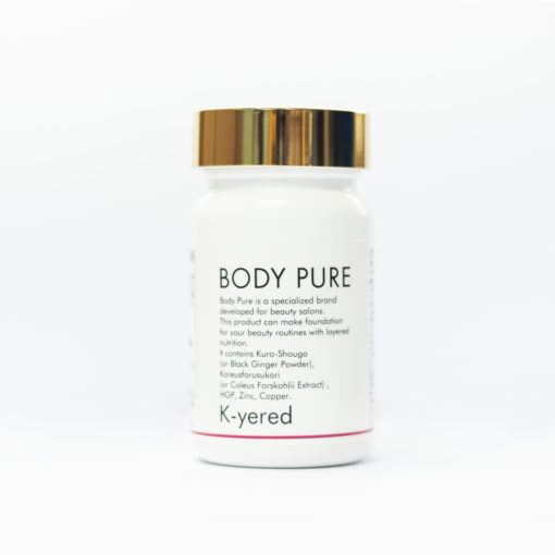 Kyered-Body Pure_毛髮再生 Front