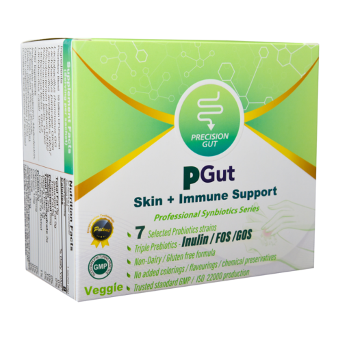 PGut Skin + Immune Support 益生菌 1